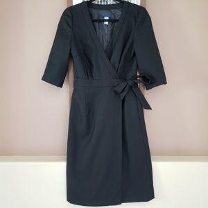 J.Crew 100% Wool Wrap Dress